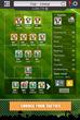 Game screenshot - Lineup