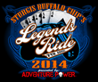 The 2014 Buffalo Chip Legends Ride