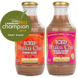 Award winning Bhakti Chai Almond Blend