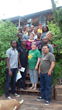 Emerging Entrepreneurs from Kenya, Uganda and South Africa visit Doug and Sandra Williams of Lost Creek Mushroom Farm