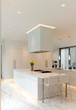 Verge and Aurora by Pure Lighting in modern kitchen application