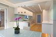 Reveal Wall Wash by Pure Lighting in contemporary kitchen application
