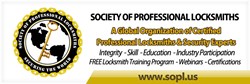 The Society of Professional Locksmiths