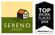 Sereno Group Named Bay Area Top Workplace for the Fifth Year in a Row