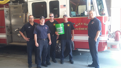 Southfield, MI Fire Department and the Battery Recycling Bucket