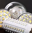 LEDs with highly reflective substrates