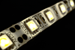 LED array with highly reflective polyimide substrate