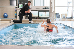 underwater treadmill, excellence in aquatics award