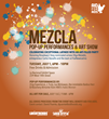 "LatinTRENDS and AID FOR AIDS Present ""MEZCLA Pop-Up Performances &..."