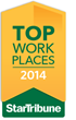 Star Tribune Top Workplaces 2014