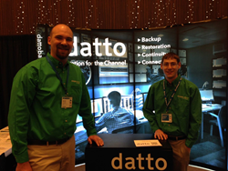 Simpleworks Representatives at the Datto Conference