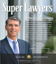 Jeff Robinette, 2014 Super Lawyer