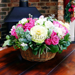 Holiday Wishes for London flower delivery. Summer flower centrepieces and table arrangements designed by top London florists.