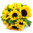 Sunflower Bouquet Flower shop london Flowers24hours offers FREE flower deliveries London and next day fower delivery uk if you order until