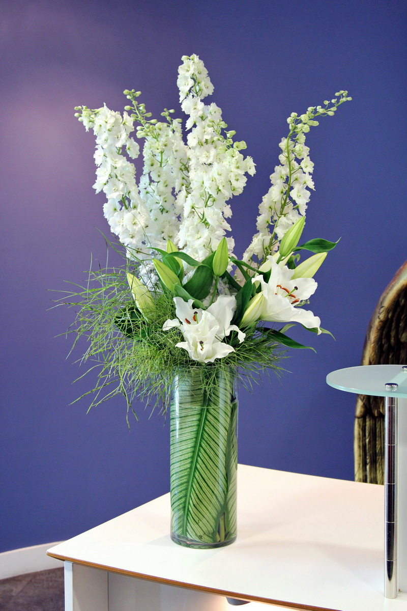 Brighten Up The Office With A Flowers24hours Summer Flower Arrangement For Same Day London