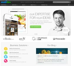 MobiDev website