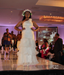 Thais Flowers on the Runway at the Big Girls Rock fashion show in Houston Texas