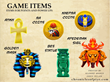 Game Items From The Piye Chronicles Mobile Game