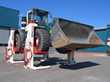 ST 1065 mobile column lifts designed for off-road vehicles with large wheel diameters