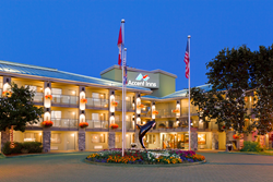 picture of Accent Inn a Victoria BC Based chain uses InnAid program to support community