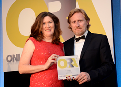 Ann-Maree Morrison of Labels4Kids at the 2013 Online Retail Awards