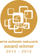 Arts Schools Network's 2014-2015 Award Winners