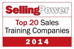 2014 Top 20 Sales Training Companies