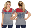 A classic logo shirt for a classic hero! This Her Universe athletic jersey tee is soft and flattering and is the perfect casual shirt to express your love for Captain America!