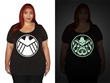 In the light you are a member of SHIELD but in the dark show others that you Hail Hydra! Many of the new pieces in the Marvel by Her Universe line are designed to fit Fangirls of all sizes.