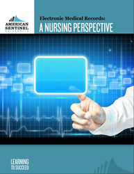 EMR, electronic medical records, nursing, online nursing programs, EMR ebook, free ebook, nursing ebook, health care innovations, Ramona Yehle, American Sentinel University