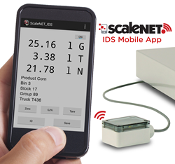 ScaleNET IDS Mobile Weighing App from Cardinal Scale Manufacturing Co.