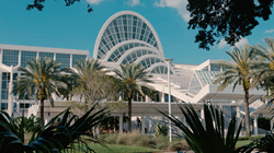 Digital wayfinding at Orange County Convention Center