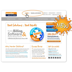 Membership Billing and Software Provider, Member Solutions, Unveils New Website