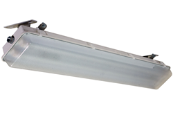 The HALP-48-2L-LED-WLM hazardous area LED light fixture designed for wet areas