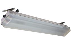 The HALP-48-2L-LED-WLM hazardous area LED light fixture designed for wet areas