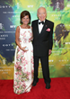 Laura Slatkin and Leonard Lauder at The Fragrance Foundation Awards 2014