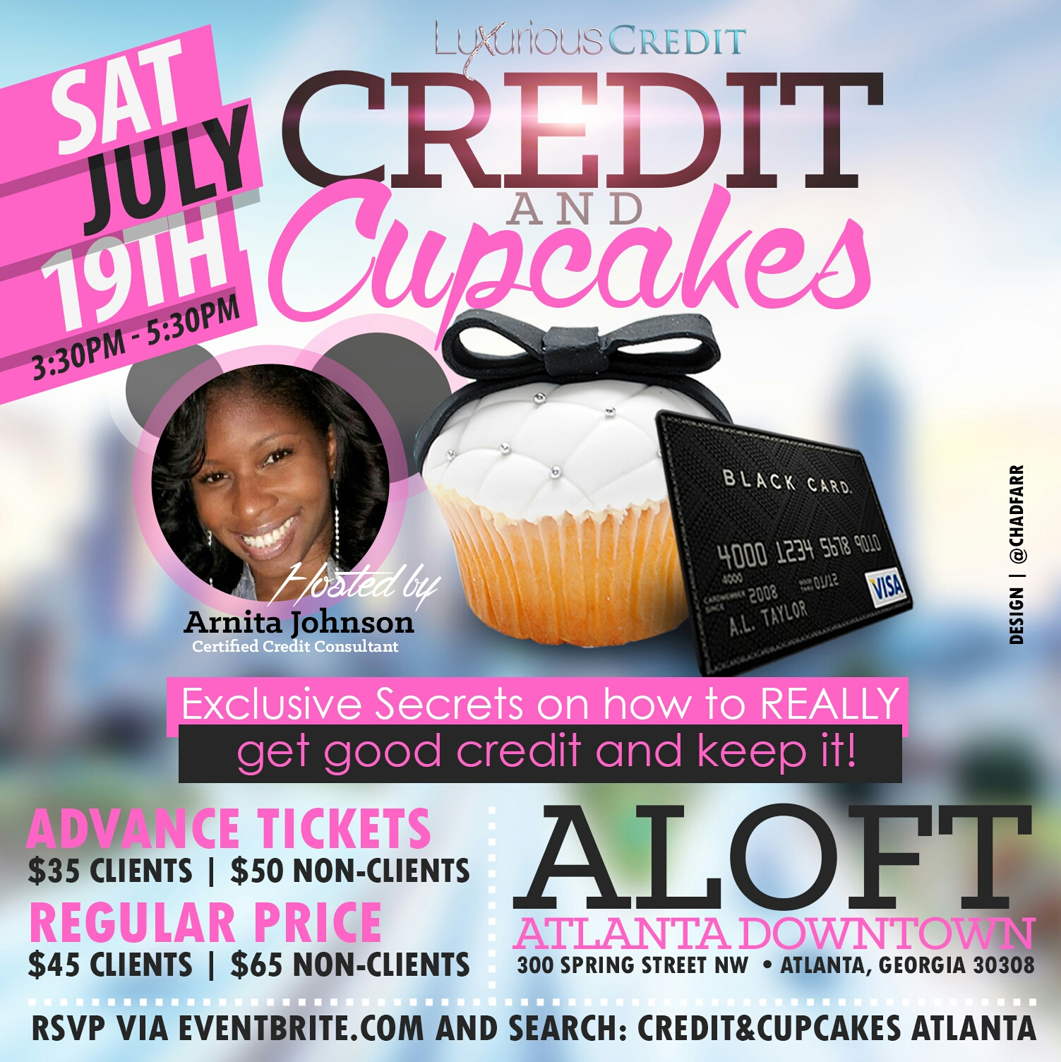 "AMB's First Ever ""Credit & Cupcakes"" Workshop"