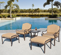 Fiesta 5 Piece Club Chair Set From AFD GF-LD8081-GE-21