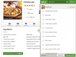 shopping list recipe app tool