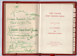 First Fashion Note Book