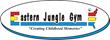 Eastern Jungle Gym logo swing set raffle