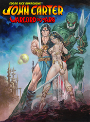 Edgar Rice Burroughs' John Carter of Mars by Pegaso