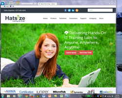 Hatsize.com new website and Hatsize Learning by Doing logo