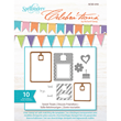 Spellbinders Celebra'tions Sweet Treats Clear Stamp Set  with Matching Die Templates