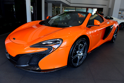 McLaren 650S Launch at THE COLLECTION Miami Florida