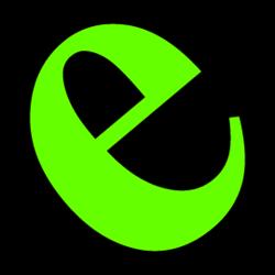 Vision-e green e logo