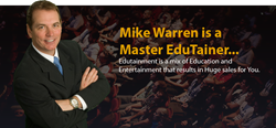 Mike Warren, Edutainer