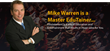 International Business Times Features Master Edutainer Mike Warren