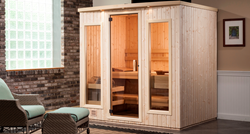 New Finnleo Sisu Sauna in Spruce