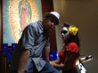 Director Kenneth Castillo with Grace Serrano as La Guapa.